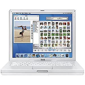 "Apple iBook Laptop 12.1"" M9164LL/A (800-MHz PowerPC G4, 256 MB RAM, 30 GB Hard Drive, DVD/CD-RW Drive)"
