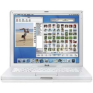 "Apple iBook Laptop 12.1"" M9164LL/A (800-MHz PowerPC G4, 256 MB RAM, 30 GB Hard Drive, DVD/CD-RW Drive)"