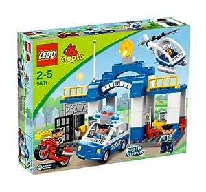 Lego Duplo - Legoville - 5681 - Jouet Premier Age - Le Poste de Police
