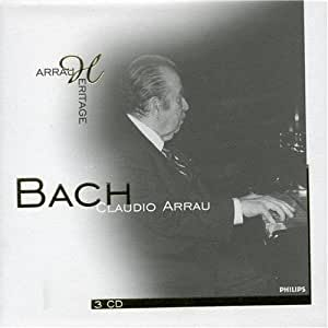 Claudio Arrau plays Bach