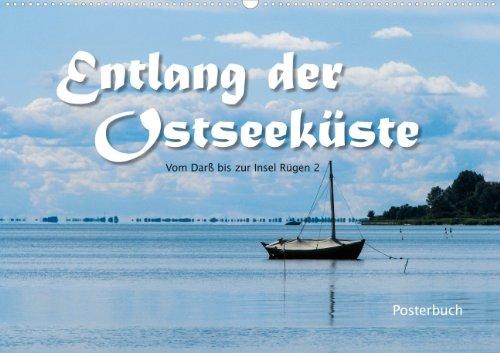 Entlang der Ostseeküste - Posterbuch (Posterbuch DIN A3 quer)