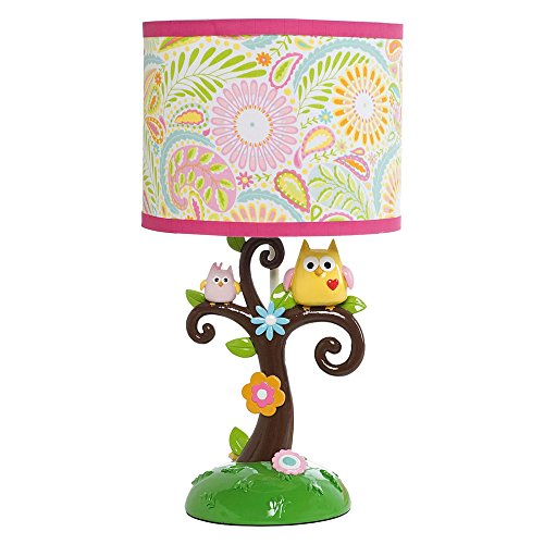 Lambs & Ivy Dena Happi Tree Lamp with Shade and Bulb