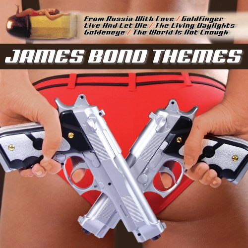 Original album cover of James Bond Themes 2 CD Set by James Bond themes