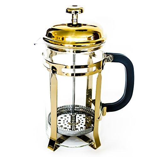 Golden French Press (34 oz, 4 mugs)