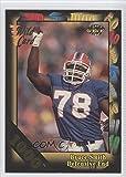 Bruce Smith (Football Card) 1992 Wild Card Super Bowl Card Show III 1000 Stripe #126 G