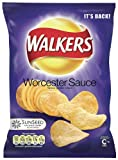Walkers Crisps Worcester Sauce 34.5 g (Pack of 48)