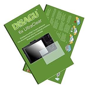 6x Film de protection d'écran Ultra Clear pour Sony DSC-RX100 II