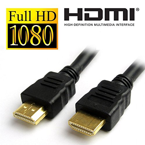 TaraVision TV-15mtr 10-Meter Gold-Plated HDMI Cable (Black)