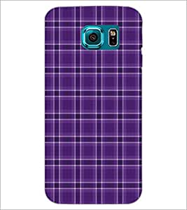PrintDhaba Pattern D-5140 Back Case Cover for SAMSUNG GALAXY S6 (Multi-Coloured)