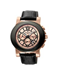 Lancaster Men's  OLA0345RG/NR Caputo rose Gold and Black Dial Watch Model