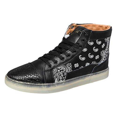 Sixth June Uomo Scarpe / Sneaker Black Dana
