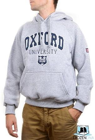 Oxford University Hoodie Grey For Men Size S M L