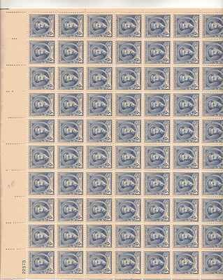 Edward A Mcdowell Sheet of 70 x 5 Cent US Postage Stamps NEW Scot 882