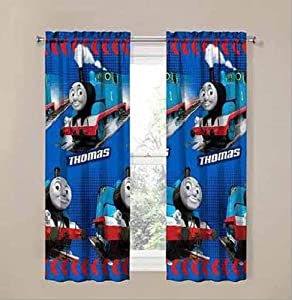 Thomas The Train Curtains Window Panels The Pair