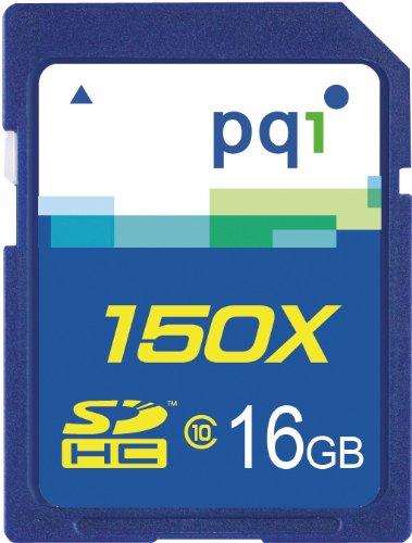 PQI JAPAN PQIブリスターパッケージ SDHCメモリカード CLASS10 16GB 永久保証 BSDH10-16G