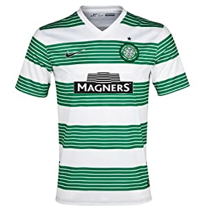 2013-14 Celtic Home Shirt (Brown 8) - Kids