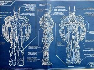 SDCC 2015 EXCLUSIVE DC Comics PROJECT BATMAN Blueprint Poster 11 x 17