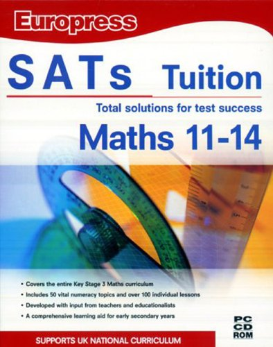 SATS Tuition Maths Age 11-14 (DVD Case)