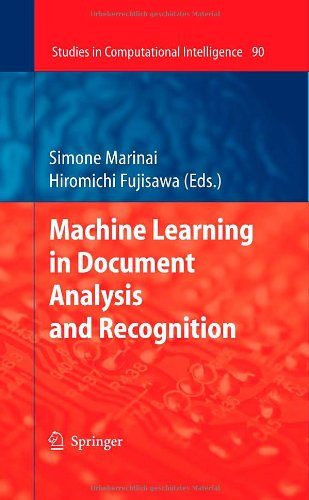 Machine Learning in Document Analysis and Recognition