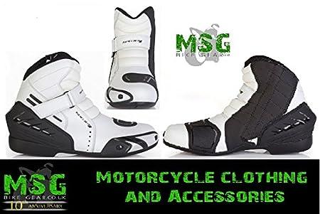 2015 nouvelle moto Spada Gear bottes blanc