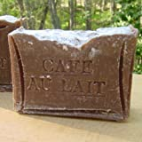 French Coffee Soap Cafe au Lait With Cocoa Butter /Handmade Soap ~ Natural Handcrafted...