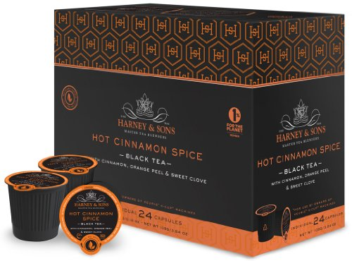 Harney and Sons Hot Cinnamon Spice Capsules (24 Capsules)