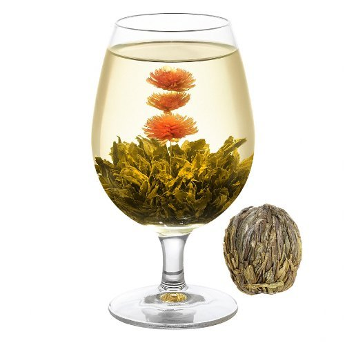 Welltea Blooming Red Dragon Flowering Green Tea (Weight: 50G)