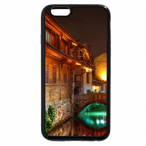 iphone-6s-plus-case-iphone-6-plus-case-the-canals-of-lijiang-at-night-hdr