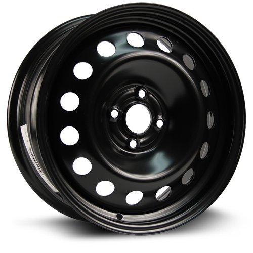 Steel Rim 16X6.5, 4X100, 56.6, +42, black finish (MULTI APPLICATION FITMENT) X99149N (2012 Kia Rio Spare Tire compare prices)