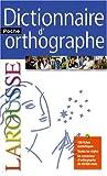 echange, troc Françoise Rullier-Theuret - Dictionnaire d'orthographe poche