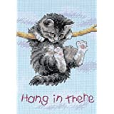Dimensions Needlecrafts Counted Cross Stitch, Hang On Kitty