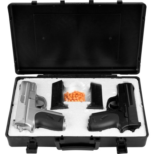 Whetstone Cyma P.618 Airsoft Pistol Dueling Kit With 2 Pistols Airsoft Gun Set