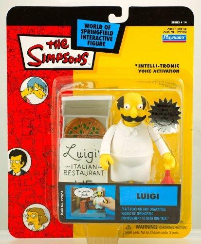 Simpsons Playmates Series 14 Carded Luigi