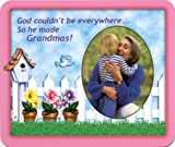 God Made Grandmas - Photo Magnet Frame