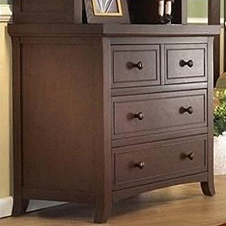 Sorelle Alex 3 Drawer Chest, Mocha Cafe