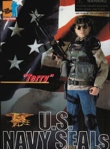 "Buy Low Price Dragon Models 1/6 ""Terry"" US Navy Seal Gunner Figure (B0007P6GLA)"