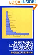 Software Engineering Economics (Prentice-Hall advances in computing science & technology series)