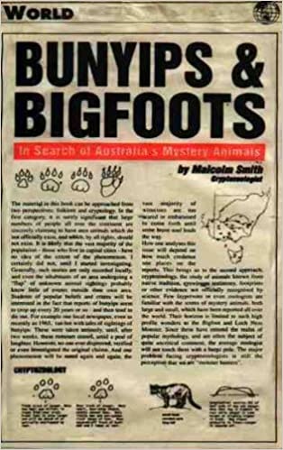 Bunyips and Bigfoots