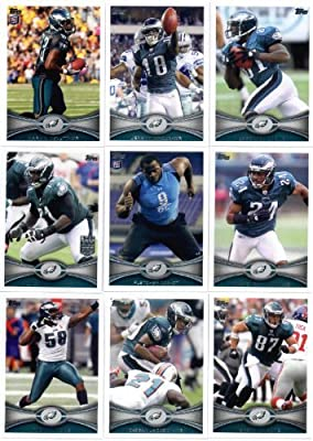2012 Topps Philadelphia Eagles Football Team Set - 17 cards - Vick, Desean, Maclin, McCoy, Cox Rookie, McNutt Rookie, Nick Foles Rookie, Boykin Rookie, Kendricks Rookie, Curry Rookie, and more!