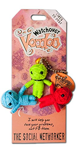 Watchover Voodoo The Social Networker Novelty - 1