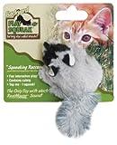 OurPets Play-N-Squeak Backyard Raccoon Catnip Cat Toy