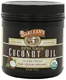 Barleans Organic Oils Extra Virgin Coconut Oil, 16-Ounce Jar