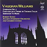 Vaughan Williams: Symphony No. 5; Fantasia on a Theme by Thomas Tallis; Serenade to Music Robert Spano