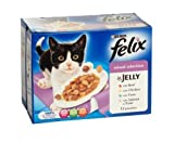 Purina Felix Mixed Selection 12 Pouches In Jelly