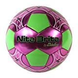 Baden Nite Brite Size-4 Glow-in-the-Dark Soccer Ball