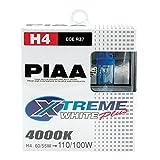 PIAA 15224 H4 Style Xtreme White 12V 60/55=110/100-Watt...