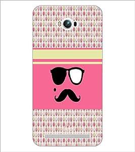 PrintDhaba Mustache D-4815 Back Case Cover for ASUS ZENFONE MAX ZC550KL (Multi-Coloured)