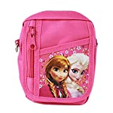 Officially Licensed Disney Adjustable Strap Belt Loop Mini Purse - Anna and Elsa