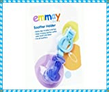 EMMAY CARE SOOTHER HOLDER IN PINK AND BLUE (Blue)