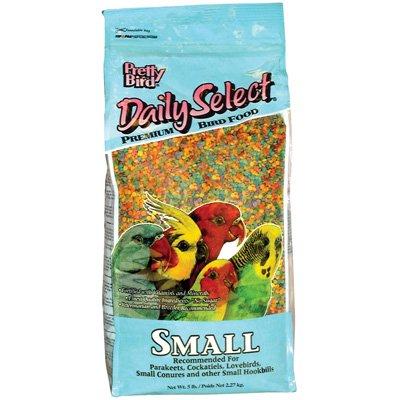 Pretty Bird International Bpb78116 5-Pound Daily Select Premium Bird Food, Small